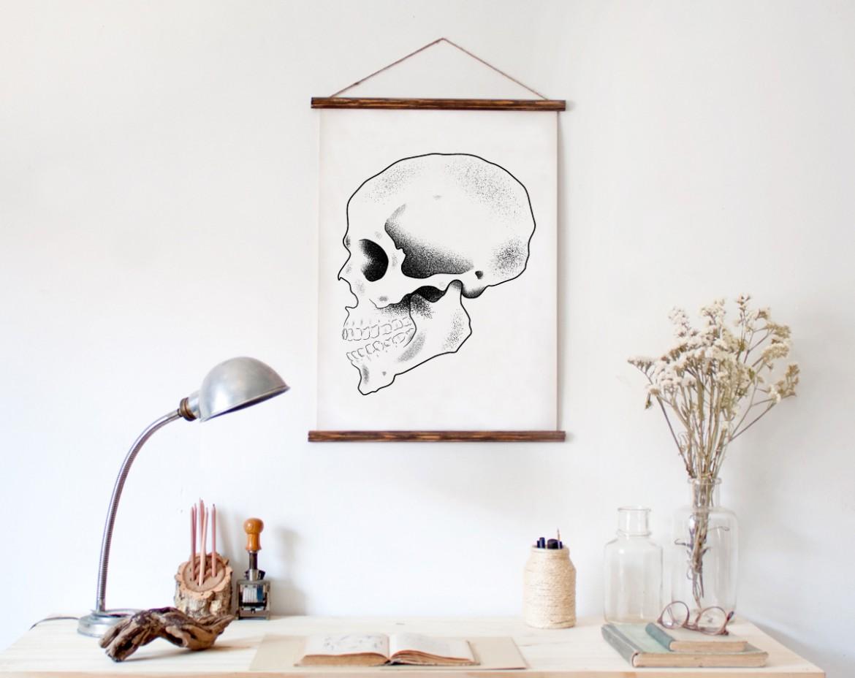 mock-skull